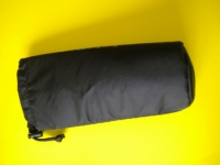 "Round Padded Accessory Bag  ""Black"" - Product Image"