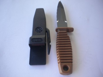 "Shark 9 Apnea w/ Hard Case "" Brown Handle/ Black Case"" ***1 Only*** - Product Image"
