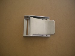 Stainless Steel 3 slot Buckle Straight Style - Product Image