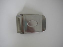 Stainless Steel 3 slot Buckle Curved Style - Product Image