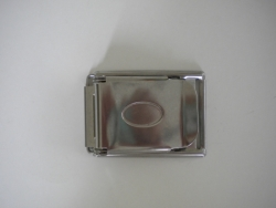 Stainless Steel Adjustable 2 slot Buckle - Product Image