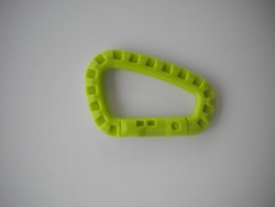 "Tactical Carabiner ""Lime Green"" - Product Image"