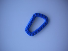 "Tactical Carabiner ""Ocean Blue"" - Product Image"