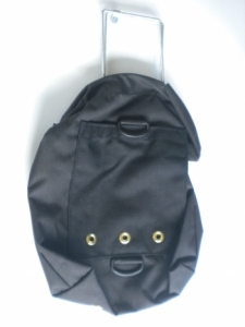 "Tec Bag ""Vertical style"" color BLACK - Product Image"