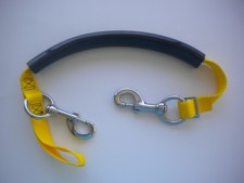 "Tec Stage Strap "" Yellow Webbing w/SS Hardware"" - Product Image"