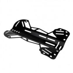 Technical Aluminum Black Backplate - Product Image