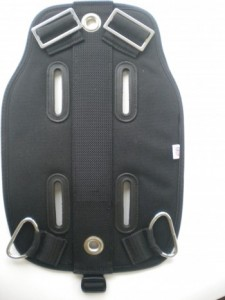 Ultralight Soft Travel Backplate Pad - Product Image