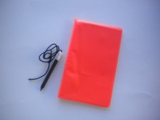 "Underwater Notebook  ""Orange Cover"" - Product Image"