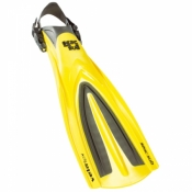 Vela Flex Fin in YELLOW***Size: Large/XL*** - Product Image