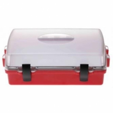Wirtz Sport Case 1 w/ Clear Top Lid with Red Lower Body - Product Image