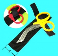 Yellow Handle Shears with pouch  - Product Image