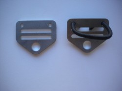 clip off Shouder hardware - Product Image
